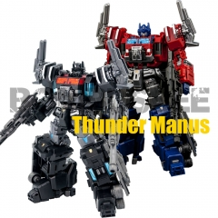 【In Stock】Make Toys MDST-03 & MTCD-03SP Thunder manus & Erebus God Ginrai with Divine Suit Set