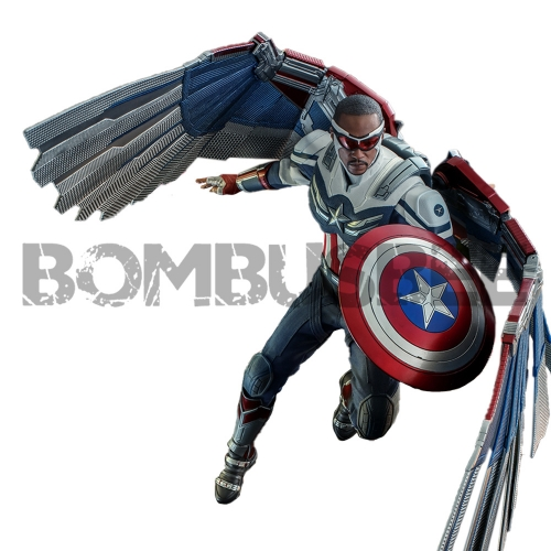 【Pre-order】HOT TOYS TMS040 1:6 THE FALCON AND THE WINTER SOLDIER CAPTAIN AMERICA
